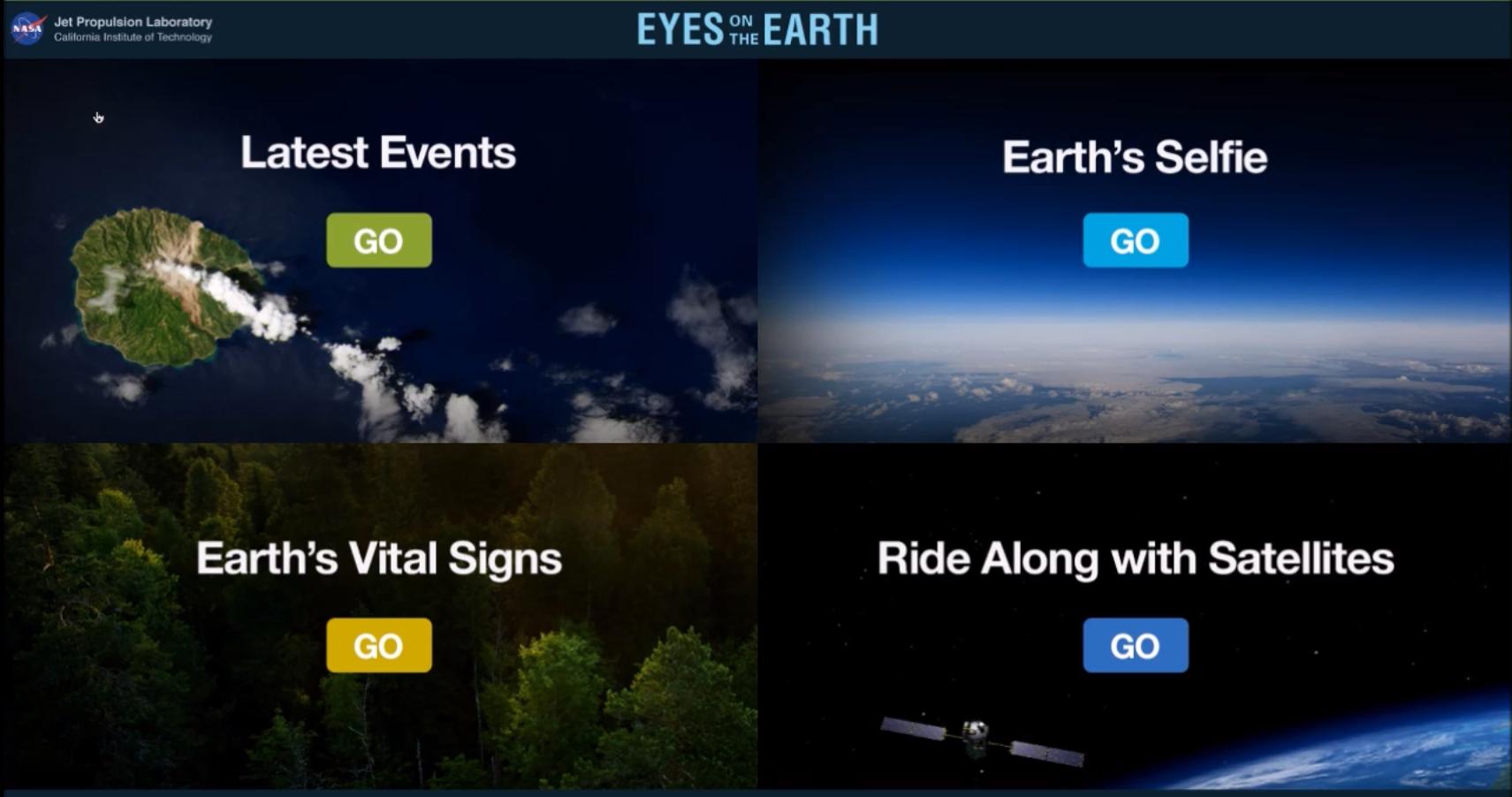 Earth Kiosk