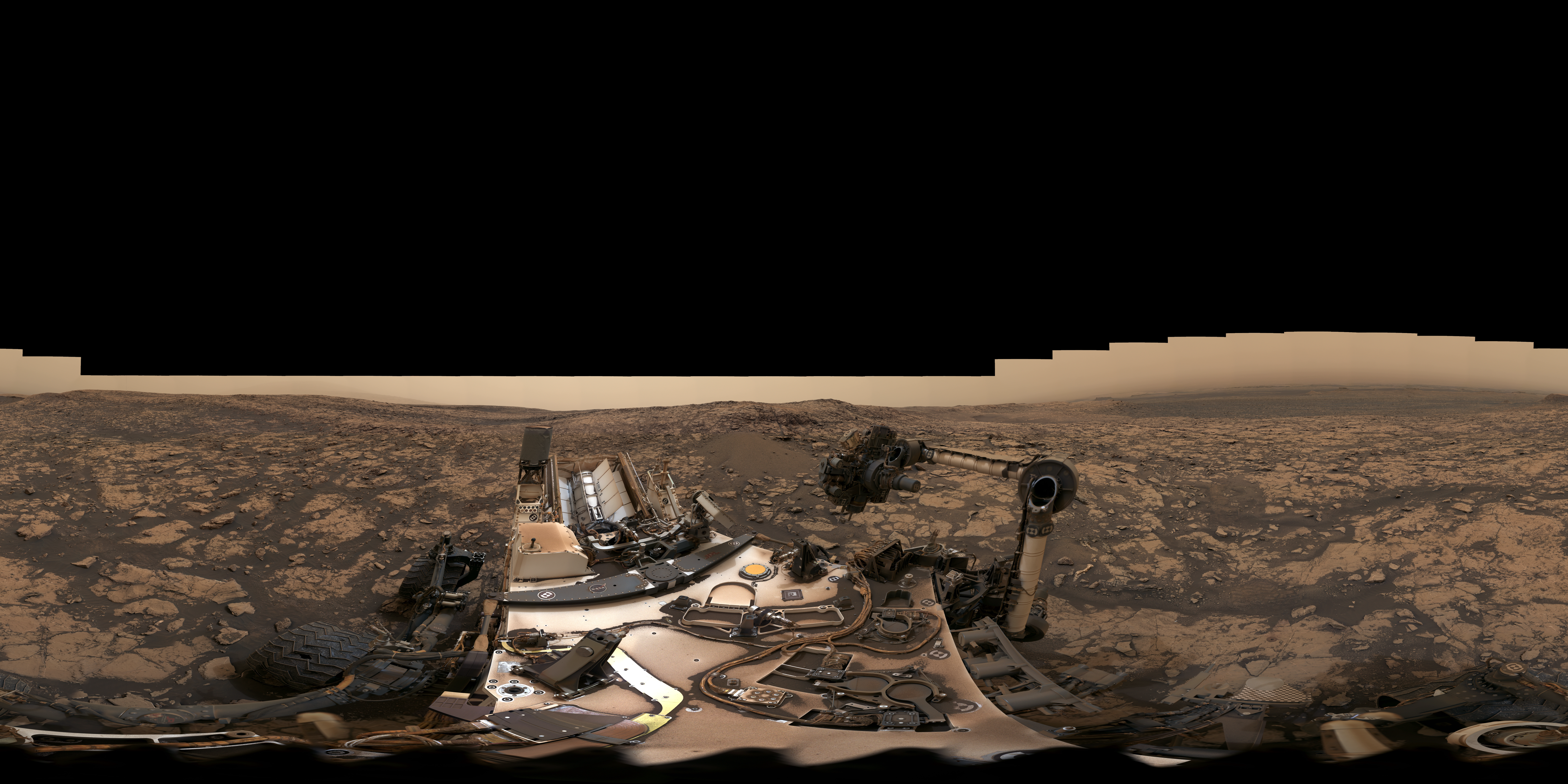 NASA VR / 360 multimedia for Planetarium Shows and Informal