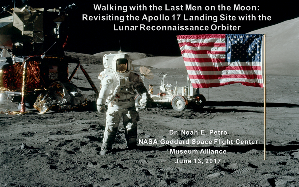 Walking with the Last Men on the Moon