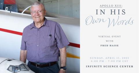 Apollo 13 in His Own Words virtual event with Fred Haise