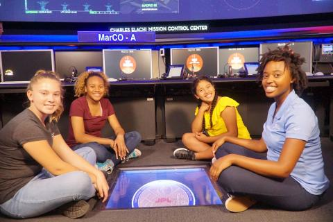 SciGirls at NASA's JPL with Janelle Wellons, Mission Operations Engineer