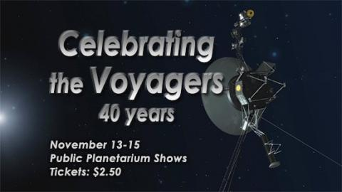 Title graphic: Celebrating the Voyagers