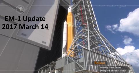 EM-1 Mission Update