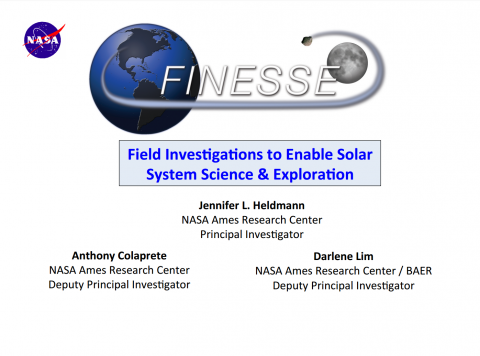 Geology: Field Investigations to Enable Solar System Science and Exploration