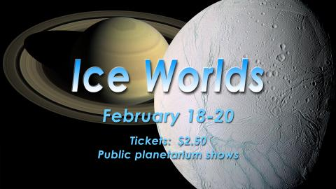 Ice Worlds title graphic