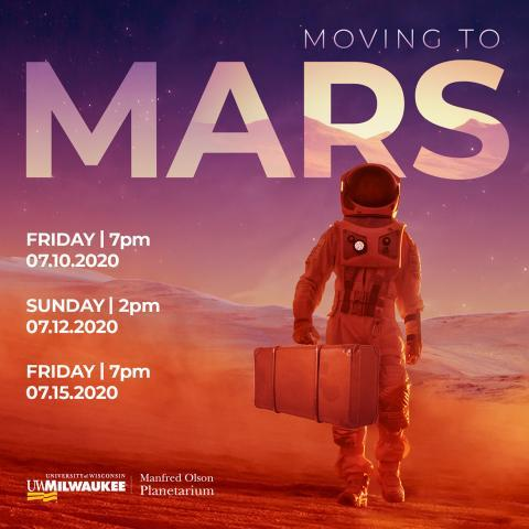 ONLINE: Moving to Mars (Virtual Show)