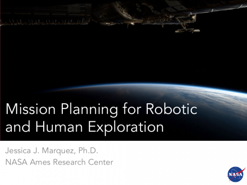 Mission Planning for Robotic and Human Exploration