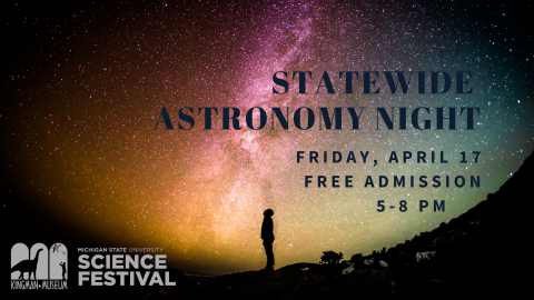 Statewide Astronomy Night at Kingman Museum