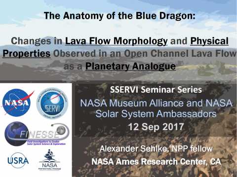 The Anatomy of the Blue Dragon Lava Flow