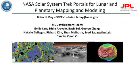 NASA Solar System Trek