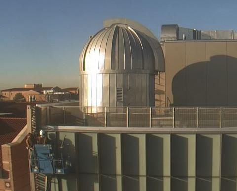View of the Rice Campus Observatory