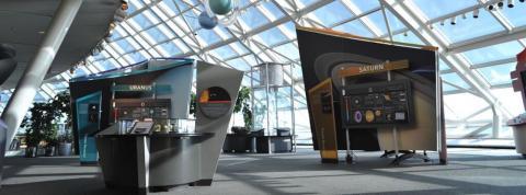 Our Solar System (permanent exhibit) | Museum Alliance