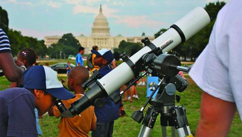 10th Annual Astronomy Festival on the National Mall